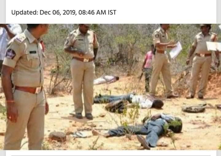 Hyderabad veterinary doctor gangrape-murder accused killed in police encounter