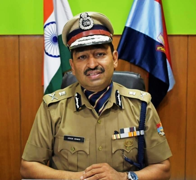 Ashok Kumar has taken over as the new Director General of Police of Uttarakhand