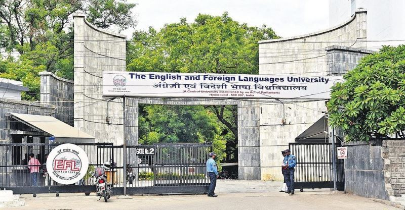 Hyderabad police drops case against Vice Chancellor- English and Foreign Languages University